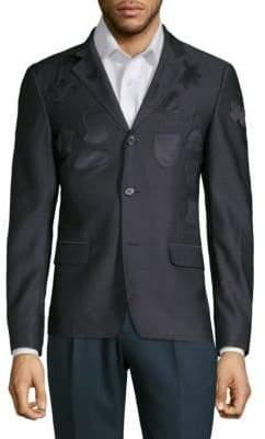 Alexander McQueen Slim Patch Coat