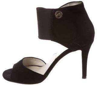 MICHAEL Michael Kors Suede Ankle Cuff Sandals