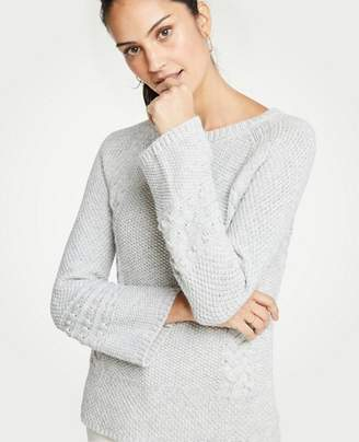 Ann Taylor Petite Cable Knit Sweater