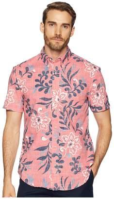 Reyn Spooner Perennial Pareau Tailored Fit Aloha Shirt Men's Short Sleeve Button Up