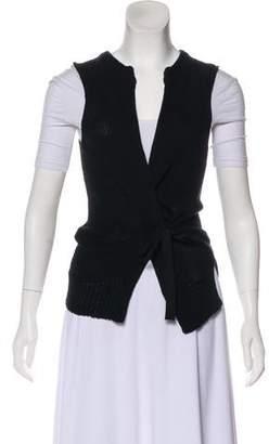 Etoile Isabel Marant Tie-Accented Knit Vest