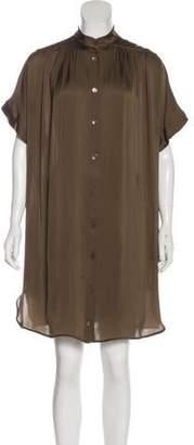 Stella McCartney Silk Knee-Length Dress
