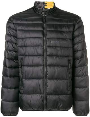 Versace zipped padded jacket