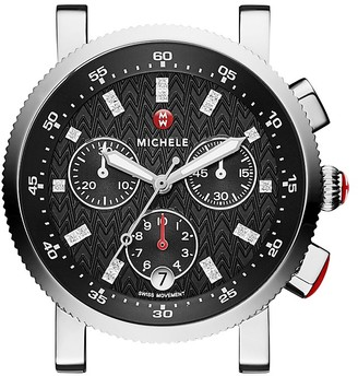 MICHELE Sport Sail Watch Head, 38mm - 100% Exclusive $795 thestylecure.com