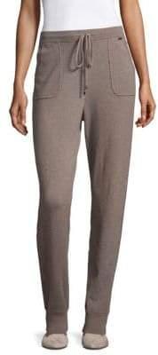 St. John Cropped Jersey Knit Pants