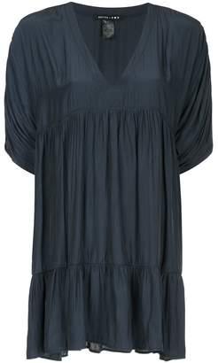 Smythe tiered blouse