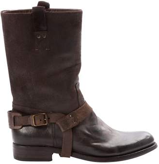 Polo Ralph Lauren Brown Leather Boots