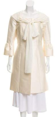 Louis Vuitton Silk Evening Jacket