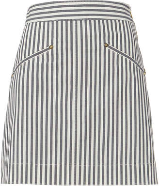 Derek Lam 10 Crosby Striped Mini Skirt