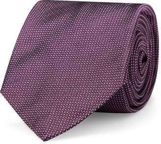 Ralph Lauren Pin Dot Silk Twill Narrow Tie