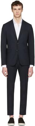 Dsquared2 Navy Paris Suit $1,485 thestylecure.com