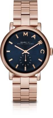 Marc by Marc Jacobs Baker Bracelet 36MM Navy Blue Dial Women's Watch