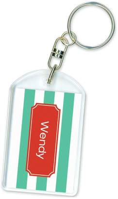 Paparte Personalized Key Ring