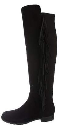 Marc Fisher Fringe Over-The-Knee Boots