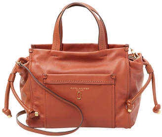 Marc Jacobs Leather Drawstring Satchel