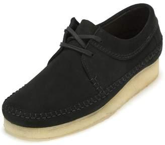 Clarks Mens Weaver Suede Shoes 12 US