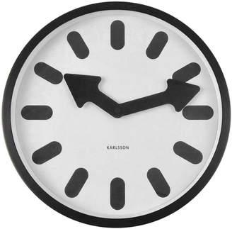 Karlsson Bold Pictogram Clock