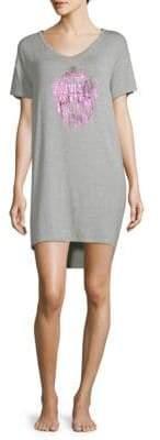 Juicy Couture Logo Sleep T-Shirt Dress