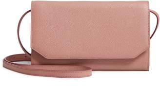 Nordstrom Leather Wallet on a Strap