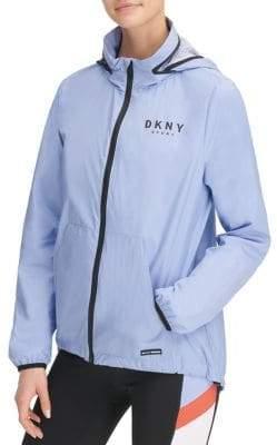 DKNY Convertible Hooded Jacket