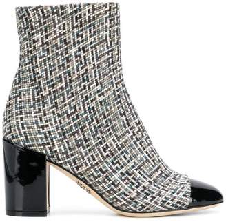 Rodo mosaic ankle boots