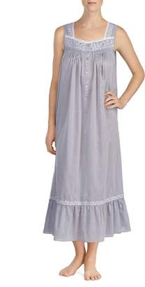 Eileen West Chambray Nightgown