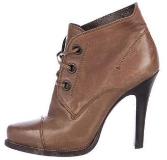 Barbara Bui Leather Ankle Boots