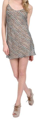 Karen Zambos Slip Dress Mist