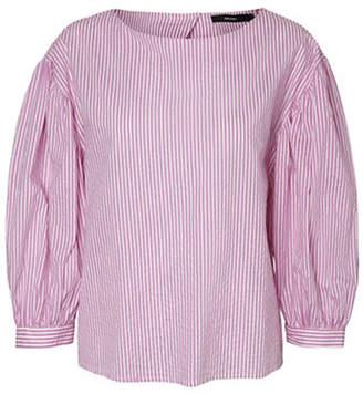Vero Moda Minnie Striped Cotton Top