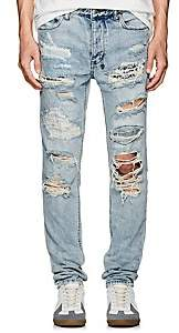 Ksubi Men's Chitch Distressed Slim Jeans - Blue