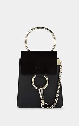 Chloé Women's Faye Mini Leather & Suede Bag - Black