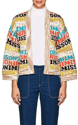 Missoni Women's Logo Wool Cardigan