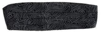 Giorgio Armani Printed Silk Cummerbund