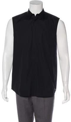 Givenchy Sleeveless Button-Up Shirt