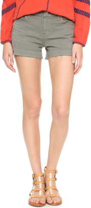 7 For All Mankind Released Hem Shorts $149 thestylecure.com