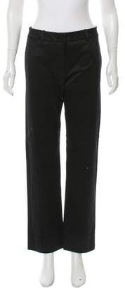 Reed Krakoff Wool Mid-Rise Pants