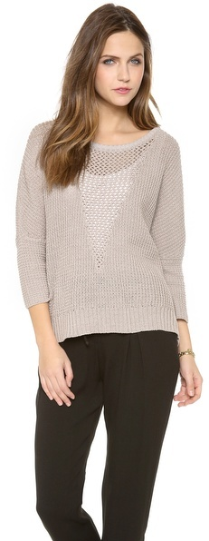 L'Agence LA't by Oversized Pullover Sweater