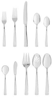 Waterford Wedgwood Conover Stainless Steel 65-Piece Flatware Set