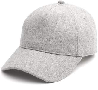 Rag & Bone Marilyn Baseball Cap in Light Heather Grey