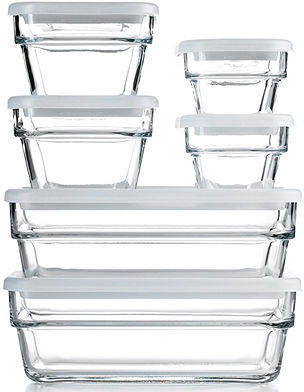 Martha Stewart Collection Food Storage Container Set, 12 Piece Save & Store