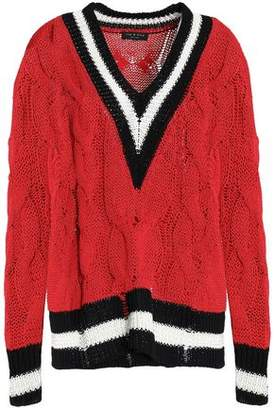 Rag & Bone Cable-Knit Cotton-Blend Sweater