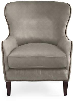 Serena & Lily Thompson Wing Chair with Nailheads