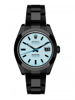 Bamford Bamford x The Webster blue dial Datejust $16,275 thestylecure.com