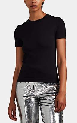 "Helmut Lang Women's ""Baby"" Jersey T-Shirt - Black"