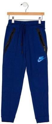 Nike Boys' Two Pocket Skinny Sweatpants