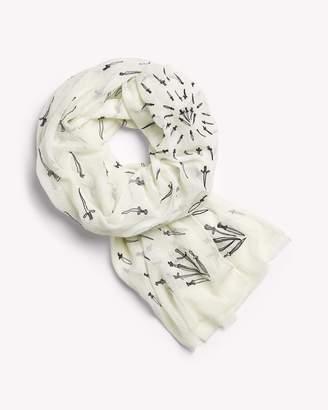 Rag & Bone Embroidered dagger scarf