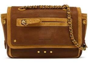 Jerome Dreyfuss Benji Suede And Leather Shoulder Bag