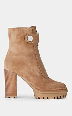 b97eb57f47952 Gianvito Rossi Women's Julian Suede Ankle Boots - Camel