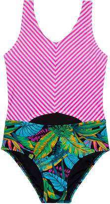 Gossip Girl Electric Jungle One-Piece Swimsuit