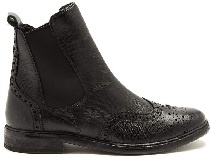 BURBERRY Alvington leather chelsea boots
